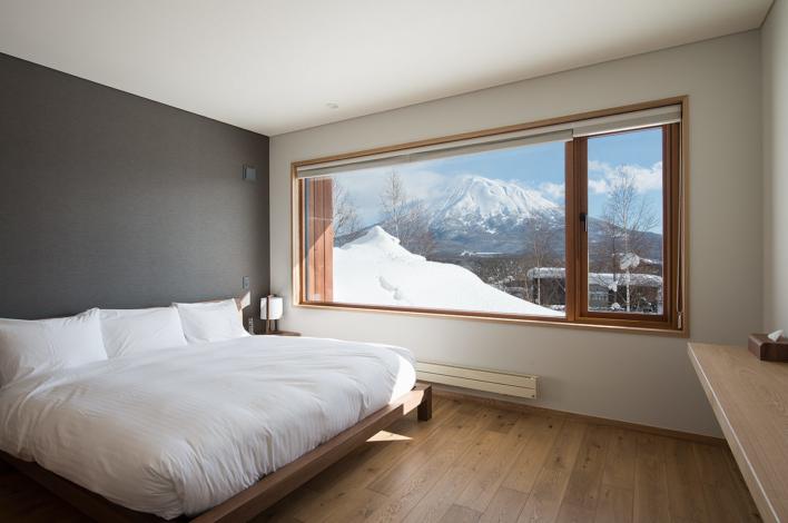 Kazahana Chalet Master Bedroom