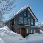 Moiwa House Exterior Winter