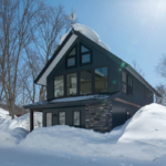 Moiwa House Exterior Winter2