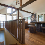 Moiwa House Stairs