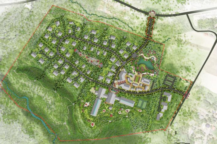 Ginto Hirafu Estates Masterplan