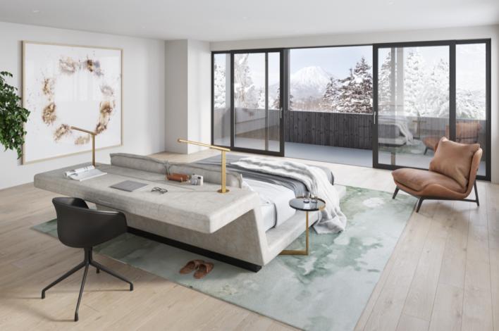 The Ginto Residences Keyaki Villa Master Bedroom