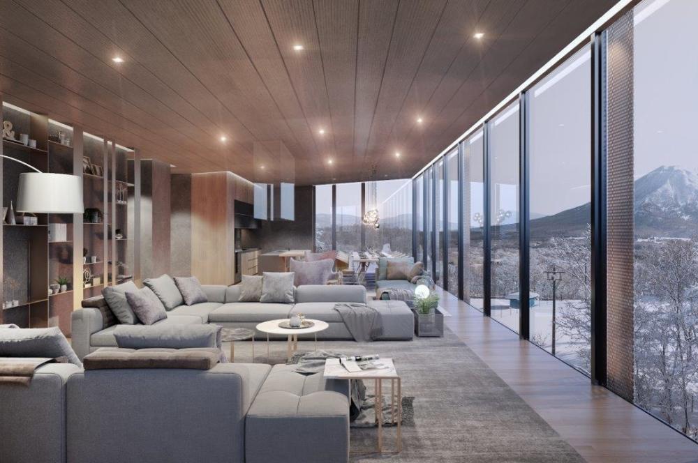 Penthouse B Living