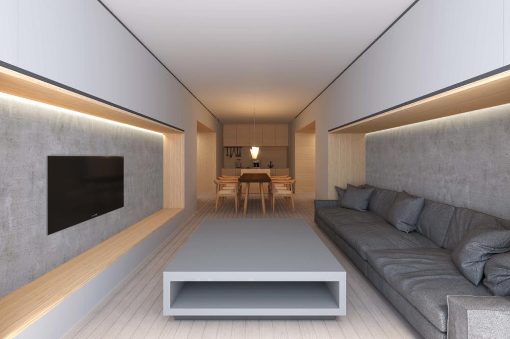 Matie Niseko 2 Bedroom Direct Ski In Ski Out 2 F Living