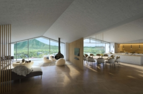 Matie Niseko 5 Bedroom Penthouse East Living