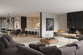 The Ginto Residences Keyaki Villa Living Room